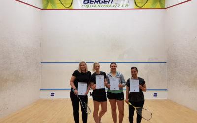 Vi gratulerer klubbens nye sertifiserte kvinnelige trenere!