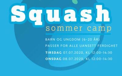 Sommer Squash Camp 2020