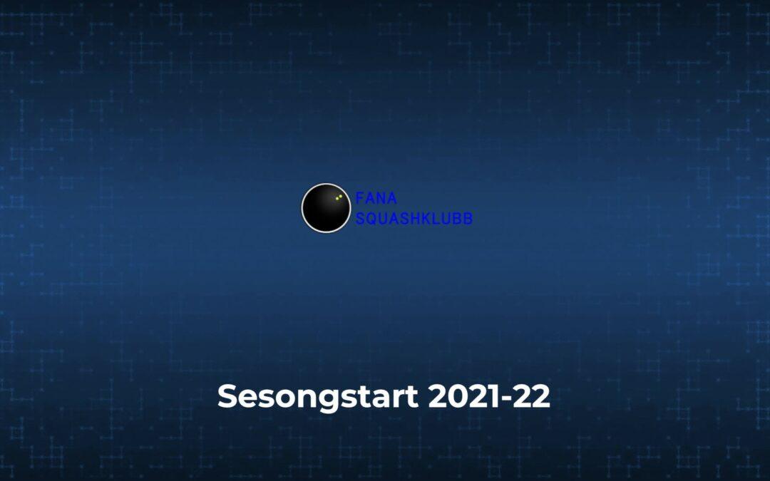 Sesongstart 2021